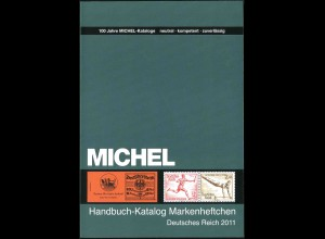 Michel-Handbuch 'Markenheftchen Dt. Reich 2011', über 400 Seiten