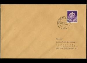 Dt. Reich, Mi. 818 auf FDC, Mi. 90,-
