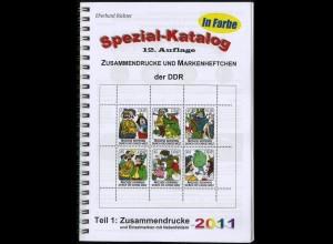 Richter, Spezial-Katalog 'DDR-Zusammendrucke', 2011, verlagsneu