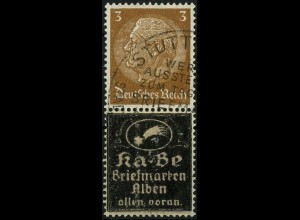 Dt. Reich, Zd. Ka-Be, Mi. P-S 5, gestempelt