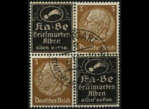 Dt. Reich, Mi. P-V 4, gestempelt, Mi.-Handbuch 40,- (4115)