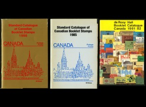 Canada, 3 Kataloge über MH (McCann 1985, 1988, de Rooy 1981/82)