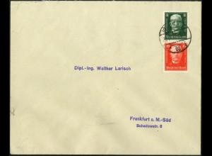 Dt. Reich, S 36, Einzelfrankatur auf Fern-Brief, Mi.-Handbuch 50,- (5273)