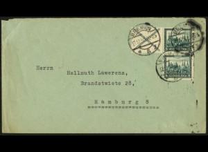Dt. Reich, W 37, auf Fern-Brief, Mi.-Handbuch 200,- (5928)