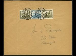 Dt. Reich, W 42, Einzelfrankatur auf Orts-Brief (6015)
