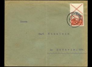 Dt. Reich, S 100, portogerechte Einzelfrankatur, Mi.-Handbuch 50,- (6051)