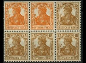 Dt. Reich, HBl. 12 aa, postfrisch, Fotoattest BPP, Mi. für HBl. 1500,-