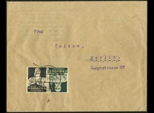 Dt. Reich, K 23, Einzelfrankatur auf Orts-Brief, Mi.-Handbuch 30,- (6699)