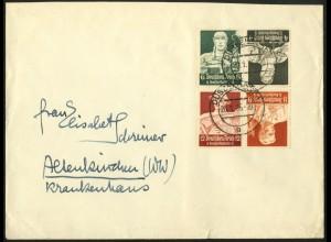 Dt. Reich, K 23 + K 24, auf Fern-Brief, Mi.-Handbuch 55,- (6727)