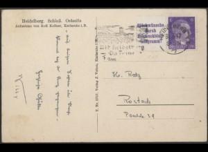 Dt. Reich, Mi. W 155, portogerechte Einzelfrankatur, Mi.-Handbuch 70,- (8438)