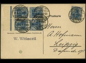 Dt. Reich, Mi. K 2 UR + K 2, portoger., gepr. Infla, Mi.-Handbuch 100,- (8954)