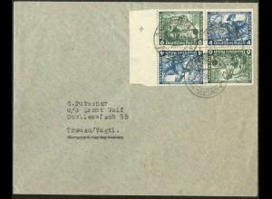 Dt. Reich, SK 19 RR 2 + SK 19, Mehrfachfrankatur, Mi.-Handbuch 300,- (8978)