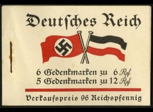 Dt. Reich, MH 32.1, original-geklammert ohne Marken, Mi. für kpl. 350,- (9218)