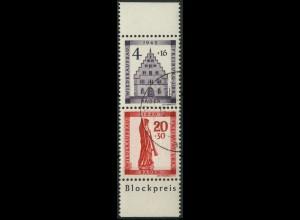Frz. Zone Baden, Block-Zd. Mi. S 1 A, gest., gepr. BPP, Mi. 110,- ++ (9233)