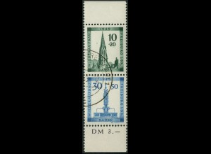 Frz. Zone Baden, Block-Zd. Mi. S 2 A, gest., gepr. BPP, Mi. 110,- ++ (9234)