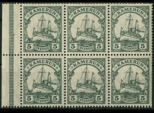 Kolonien - Kamerun, HBl. 12 A, postfrisch, Mi. 20,- ++ (9253)