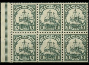 Kolonien - Kamerun, HBl. 12 B, postfrisch, Mi. 30,- ++ (9255)