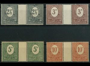 Oberschlesien, Mi. 1-4 ZW, postfrisch, Mi. 34,- ++ (9316)