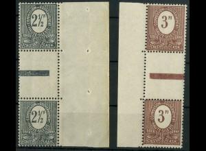 Oberschlesien, Mi. 1-2 ZS, postfrisch, Mi. 20,- ++ (9325)