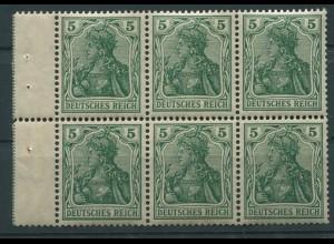 Dt. Reich, HBl. 2 I a A 1.1, postfrisch, Mi. 400,- (9506)