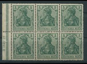 Dt. Reich, HBl. 2 II a A HAN 3 (1848.19), postfrisch, Mi. 150,- (9527)