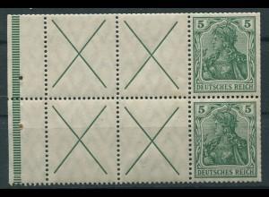 Dt. Reich, HBl. 7 a A 1.1 (neu), postfrisch, Fotoattest BPP, Mi. 2500,- ++ (9568)