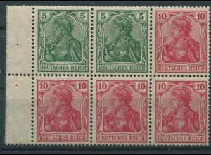Dt. Reich, HBl. 9 I ab A 2.1, postfrisch, Mi. 650,- (9578)