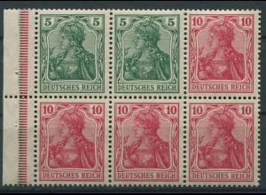 Dt. Reich, HBl. 9 I ab A 3.1, postfrisch, gepr. BPP, Mi. 650,- + 100% (9579)
