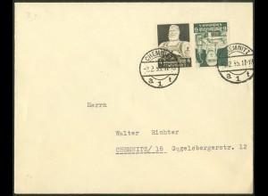 Dt. Reich, K 23, Einzelfrankatur auf Orts-Brief, Mi.-Handbuch 30,- (9745)