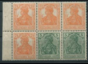 Dt. Reich, HBl. 20 aa A 0, ungebraucht, gepr. BPP, Mi. 850,- + 100 % (9805)
