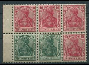 Dt. Reich, HBl. 27 aa A 2, postfrisch, farbgeprüft BPP, Mi. 100,- (9902)