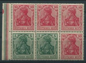 Dt. Reich, HBl. 27 aa B 3.5, postfrisch, Fotobefund BPP, Mi. 220,- ++ (9921)