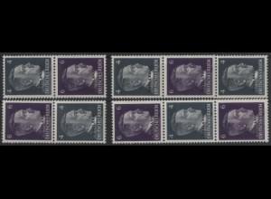 Ostland, S 1 - S 4, postfrisch, kpl. Serie ungeknickt, Mi. 34,- (10291)