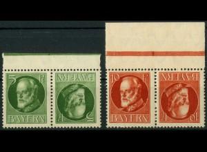 Bayern, Zd. K 3 + 4, postfrisch, Mi. 18,- (10315)