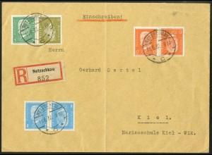 Dt. Reich, K 11, K 9, K 13, R-Brief, Mi.-Handbuch 130,-, gest. 120,- (10544)