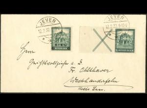Dt. Reich, W 39 LR 2, Fern-Brief, Mi.-Handbuch 130,- (10696)