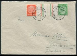 Dt. Reich, KZ 21.1, Einzelfrankatur, Mi.-Handbuch 30,-, gest. 25,- (10772)