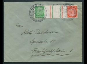 Dt. Reich, KZ 21.1, Einzelfrankatur, Mi.-Handbuch 30,-, gest. 25,- (10776)