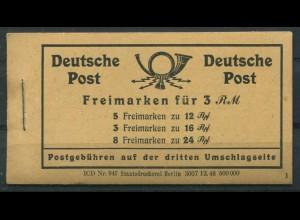 """All. Bes., MH 50 RLV """"XV"""", postfrisch, Mi. 120,- (11205)"""