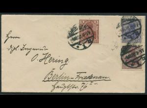 Dt. Reich, S 10, portogerechter Fern-Brief, Mi. 30,- (11212)
