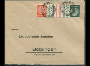 Dt. Reich, KZ 29.1, Einzelfrankatur, Fern-Brief, Mi.-Handbuch 160,- (11840)