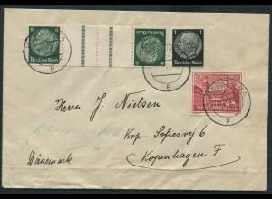 Dt. Reich, KZ 22.4, portogerechter Auslands-Brief mit OKW-Zensur (12278)