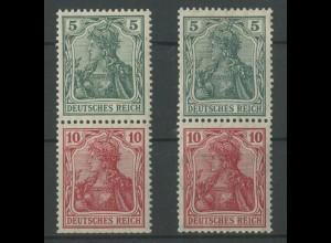 Dt. Reich, S 4 I + S 4 II, ungebraucht, Mi. 95,- (12717)