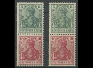 Dt. Reich, S 4 I + S 4 II, ungebraucht, Mi. 95,- (12718)