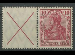 Dt. Reich, W 4 b, ungebraucht, vollständige Zähnung, Mi.-Handbuch 350,- (12756)