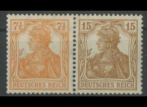 Dt. Reich, W 10 ba, ungebraucht, vollständige Zähnung, Mi. 300,- (12777)