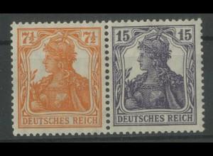 Dt. Reich, W 11 ba, ungebraucht, vollständige Zähnung, Mi. 300,- (12781)