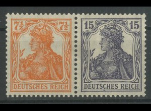 Dt. Reich, W 11 ba, ungebraucht, vollständige Zähnung, Mi. 300,- (12782)