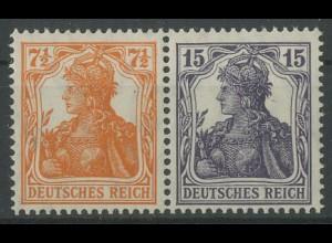 Dt. Reich, W 11 ba, ungebraucht, vollständige Zähnung, Mi. 300,- (12783)