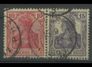 Dt. Reich, W 12 aa, gest., vollständige Zähn., Mi. 60,- (12789)